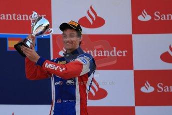 World © Octane Photographic Ltd. GP2 Spanish GP, Circuit de Catalunya, Saturday 11th May 2013. Race 1. Jolyon Palmer - Carlin. Digital Ref : 0666cb1d1747