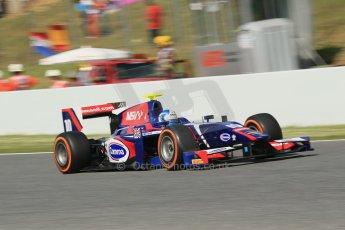 World © Octane Photographic Ltd. GP2 Spanish GP, Circuit de Catalunya, Sunday 12th May 2013. GP2 Race 2. Jolyon Palmer - Carlin. Digital Ref : 0670cb1d2193