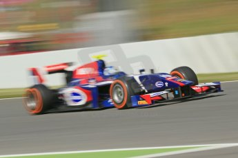World © Octane Photographic Ltd. GP2 Spanish GP, Circuit de Catalunya, Sunday 12th May 2013. GP2 Race 2. Jolyon Palmer - Carlin. Digital Ref : 0670cb1d2204