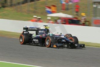 World © Octane Photographic Ltd. GP2 Spanish GP, Circuit de Catalunya, Sunday 12th May 2013. GP2 Race 2. Kevin Giovesi - Venezuela GP Lazarus. Digital Ref :0670lw1d2198