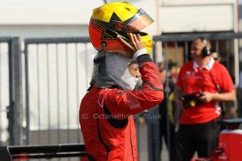 World © Octane Photographic Ltd. Saturday 6th July 2013. Dallara GP3/13 - German GP - Nurburgring - Qualifying. Carlin – Luis Sa Silva. Digital ref : 0743lw1d3673