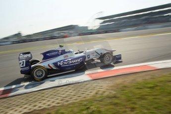 World © Octane Photographic Ltd. Saturday 6th July 2013. Dallara GP3/13 - German GP - Nurburgring - Qualifying. Koiranen GP – Aaro Vaino. Digital ref : 0743lw1d3733