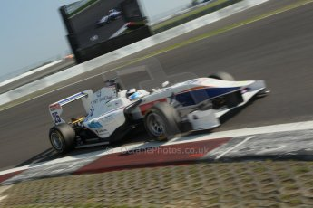 World © Octane Photographic Ltd. Saturday 6th July 2013. Dallara GP3/13 - German GP - Nurburgring - Qualifying. Trident – Emanuele Zonzini. Digital ref : 0743lw1d3781
