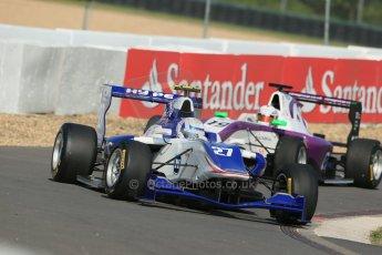 World © Octane Photographic Ltd. Saturday 6th July 2013. Dallara GP3/13 - German GP - Nurburgring - Qualifying. Koiranen GP – Aaro Vaino and Status Grand Prix – Josh Webster. Digital ref : 0743lw1d5834