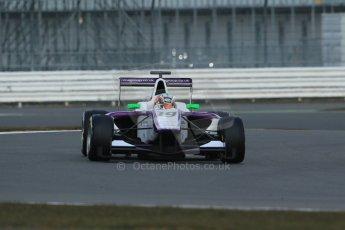 World © Octane Photographic Ltd. GP3 Testing - Wednesday 3rd April 2013 Dallara GP3/13 - Silverstone. Status Grand Prix – Josh Webster. Digital ref : 0627lw1d0396