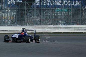 World © Octane Photographic Ltd. GP3 Testing - Wednesday 3rd April 2013 Dallara GP3/13 - Silverstone. Carlin – Eric Lichenstein. Digital ref : 0627lw1d0503