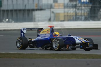 World © Octane Photographic Ltd. GP3 Testing - Wednesday 3rd April 2013 Dallara GP3/13 - Silverstone. Carlin – Luis Sa Silva. Digital ref : 0627lw1d0538