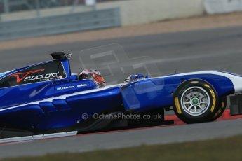 World © Octane Photographic Ltd. GP3 Testing - Wednesday 3rd April 2013 Dallara GP3/13 - Silverstone. Carlin – Eric Lichenstein. Digital ref : 0627lw1d0602