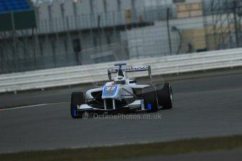 World © Octane Photographic Ltd. GP3 Testing - Wednesday 3rd April 2013 Dallara GP3/13 - Silverstone. Bamboo Engineering – Carmen Jorda. Digital ref : 0627lw1d0656