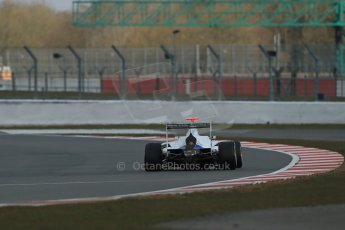 World © Octane Photographic Ltd. GP3 Testing - Wednesday 3rd April 2013 Dallara GP3/13 - Silverstone. Trident – Giovanni Venturini. Digital ref : 0627lw1d0676