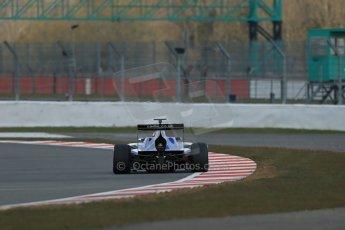 World © Octane Photographic Ltd. GP3 Testing - Wednesday 3rd April 2013 Dallara GP3/13 - Silverstone. Carlin – Eric Lichenstein. Digital ref : 0627lw1d0741
