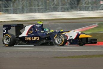 World © Octane Photographic Ltd. GP3 Testing - Wednesday 3rd April 2013 Dallara GP3/13 - Silverstone. MW Arden – Robert Visolu. Digital ref : 0627lw1d0804