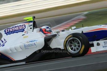 World © Octane Photographic Ltd. GP3 Testing - Wednesday 3rd April 2013 Dallara GP3/13 - Silverstone. Trident – David Fumanelli. Digital ref : 0627lw1d0816