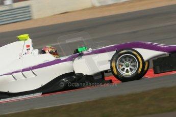 World © Octane Photographic Ltd. GP3 Testing - Wednesday 3rd April 2013 Dallara GP3/13 - Silverstone. Status Grand Prix – Adderly Fong. Digital ref : 0627lw1d0839