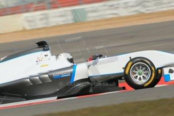 World © Octane Photographic Ltd. GP3 Testing - Wednesday 3rd April 2013 Dallara GP3/13 - Silverstone. Bamboo Engineering – Carmen Jorda. Digital ref : 0627lw1d0846