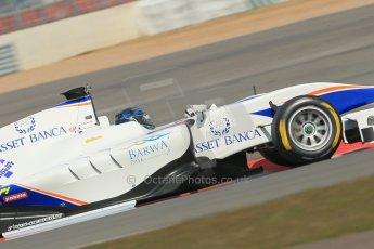 World © Octane Photographic Ltd. GP3 Testing - Wednesday 3rd April 2013 Dallara GP3/13 - Silverstone. Trident – Emanuele Zonzini. Digital ref : 0627lw1d0883