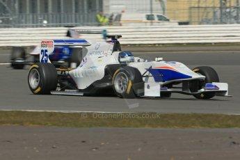 World © Octane Photographic Ltd. GP3 Testing - Wednesday 3rd April 2013 Dallara GP3/13 - Silverstone. Trident – Emanuele Zonzini. Digital ref : 0627lw1d0956