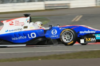 World © Octane Photographic Ltd. GP3 Testing - Wednesday 3rd April 2013 Dallara GP3/13 - Silverstone. Jenzer Motorsport – Alex Fontana. Digital ref : 0627lw1d0963