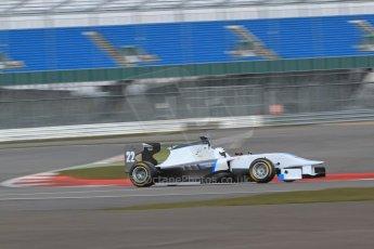 World © Octane Photographic Ltd. GP3 Testing - Wednesday 3rd April 2013 Dallara GP3/13 - Silverstone. Bamboo Engineering – Carmen Jorda. Digital ref : 0627lw7d4091