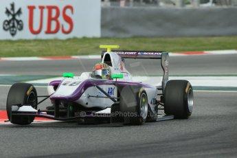 World © Octane Photographic Ltd. GP3 Qualifying - Saturday 11th May 2013 Dallara GP3/13 - Circuit de Catalunya. Status Grand Prix – Adderly Fong. Digital ref : 0669cb1d0346