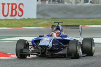 World © Octane Photographic Ltd. GP3 Qualifying - Saturday 11th May 2013 Dallara GP3/13 - Circuit de Catalunya. Carlin – Eric Lichenstein. Digital ref : 0669cb1d0349