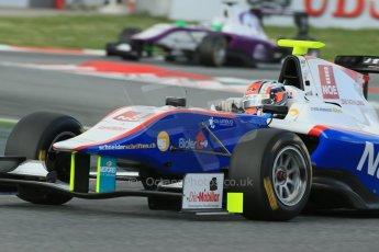 World © Octane Photographic Ltd. GP3 Qualifying - Saturday 11th May 2013 Dallara GP3/13 - Circuit de Catalunya. Jenzer Motorsport – Patric Niederhauser. Digital ref : 0669cb1d0434