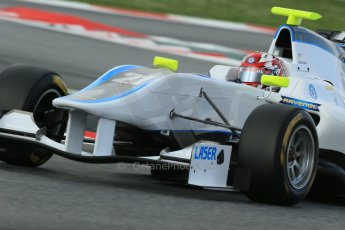 World © Octane Photographic Ltd. GP3 Qualifying - Saturday 11th May 2013 Dallara GP3/13 - Circuit de Catalunya. Bamboo Engineering – Melville McKee. Digital ref : 0669cb1d0496