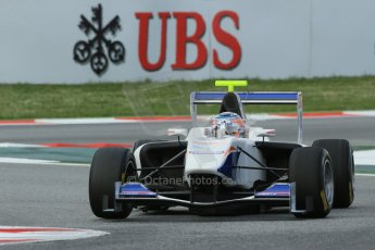 World © Octane Photographic Ltd. GP3 Qualifying - Saturday 11th May 2013 Dallara GP3/13 - Circuit de Catalunya. Trident – David Fumanelli. Digital ref : 0669cb1d0508