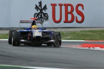 World © Octane Photographic Ltd. GP3 Qualifying - Saturday 11th May 2013 Dallara GP3/13 - Circuit de Catalunya. Carlin – Luis Sa Silva. Digital ref : 0669cb1d0512