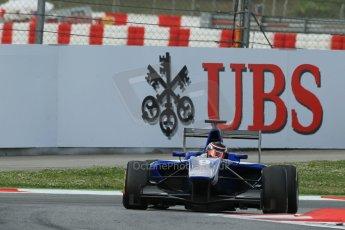World © Octane Photographic Ltd. GP3 Qualifying - Saturday 11th May 2013 Dallara GP3/13 - Circuit de Catalunya. Carlin – Eric Lichenstein. Digital ref : 0669cb1d0532