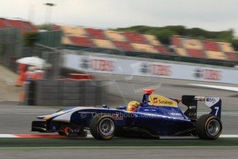 World © Octane Photographic Ltd. GP3 Qualifying - Saturday 11th May 2013 Dallara GP3/13 - Circuit de Catalunya. Carlin – Luis Sa Silva. Digital ref : 0669cb7d9033