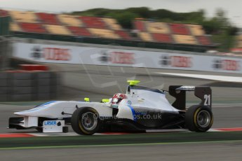 World © Octane Photographic Ltd. GP3 Qualifying - Saturday 11th May 2013 Dallara GP3/13 - Circuit de Catalunya. Bamboo Engineering – Melville McKee. Digital ref : 0669cb7d9037