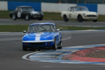World © Octane Photographic Ltd. Donington Park 80th Anniversary Meeting (March 1933 – March 2013). HSCC Historic Road Sports Championship supported by Witchampton Garage (Inc. Class B2 Guards Trophy), morning practice and qualifying. Robert Rowe – Lotus Elan S3. Digital Ref : 0599lw1d5369