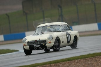 World © Octane Photographic Ltd. Donington Park 80th Anniversary Meeting (March 1933 – March 2013). HSCC 70s Road Sport Championship (Inc. Class B2 Guards Trophy). Steve Naish – MGB. Digital Ref : 0590lw1d6232