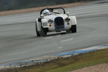 World © Octane Photographic Ltd. Donington Park 80th Anniversary Meeting (March 1933 – March 2013). HSCC Historic Road Sports Championship supported by Witchampton Garage (Inc. Class B2 Guards Trophy). Tim Pearce – Morgan Plus 8. Digital Ref : 0594lw1d6927