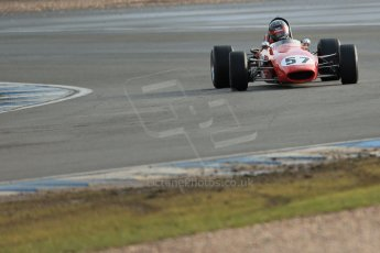 World © Octane Photographic Ltd. Donington Park 80th Anniversary Meeting (March 1933 – March 2013). HSCC Classic Racing Cars Championship, supported by the Cubicle Centre. Rene Ligonnet – Chevron B15. Digital Ref : 0595lw1d7167