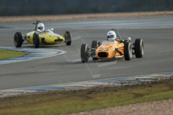 World © Octane Photographic Ltd. Donington Park 80th Anniversary Meeting (March 1933 – March 2013). HSCC Classic Racing Cars Championship, supported by the Cubicle Centre. Martin Haines – Merlyn Mk20. Digital Ref : 0595lw1d7170