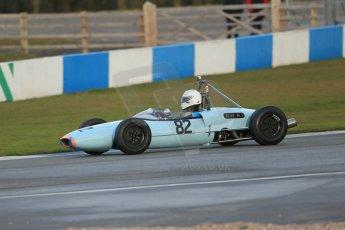 World © Octane Photographic Ltd. Donington Park 80th Anniversary Meeting (March 1933 – March 2013). HSCC/FJHRA Historic Formula Junior Championship – Race B, Rear Engine cars, Classes C-E. Andrew Garside – Lotus 20/22. Digital Ref : 0596lw1d7270