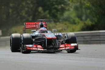 World © Octane Photographic Ltd. F1 Hungarian GP - Hungaroring. Friday 26th July 2013. F1 Practice 2. Scuderia Toro Rosso STR8 - Jean-Eric Vergne. Digital Ref : 0760lw1d1673