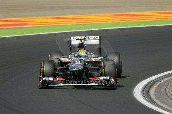 World © Octane Photographic Ltd. F1 Hungarian GP - Hungaroring. Friday 26th July 2013. F1 Practice 2. Sauber C32 - Esteban Gutierrez. Digital Ref : 0760lw1d1999