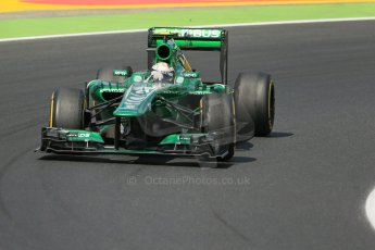World © Octane Photographic Ltd. F1 Hungarian GP - Hungaroring. Friday 26th July 2013. F1 Practice 2. Caterham F1 Team CT03 - Giedo van der Garde. Digital Ref : 0760lw1d2028