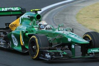 World © Octane Photographic Ltd. F1 Hungarian GP - Hungaroring. Friday 26th July 2013. F1 Practice 2. Caterham F1 Team CT03 - Giedo van der Garde. Digital Ref : 0760lw1d2157