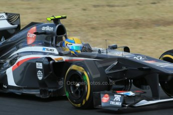 World © Octane Photographic Ltd. F1 Hungarian GP - Hungaroring. Friday 26th July 2013. F1 Practice 2. Sauber C32 - Esteban Gutierrez. Digital Ref : 0760lw1d2170