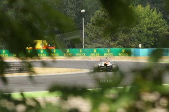 World © Octane Photographic Ltd. F1 Hungarian GP - Hungaroring. Saturday 27th July 2013. F1 Qualifying. Sahara Force India VJM06 - Adrian Sutil. Digital Ref : 0764lw1d1159