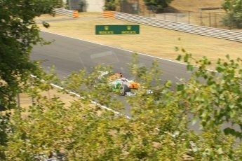 World © Octane Photographic Ltd. F1 Hungarian GP - Hungaroring. Thursday  25th July 2013. F1 Qualifying. Sahara Force India VJM06 - Paul di Resta. Digital Ref : 0764lw1d1214