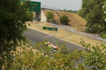 World © Octane Photographic Ltd. F1 Hungarian GP - Hungaroring. Thursday  25th July 2013. F1 Qualifying. Sahara Force India VJM06 - Paul di Resta. Digital Ref : 0764lw1d1236