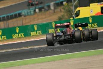 World © Octane Photographic Ltd. F1 Hungarian GP - Hungaroring. Saturday 27th July 2013. F1 Qualifying. Scuderia Toro Rosso STR8 - Jean-Eric Vergne. Digital Ref : 0764lw1d3934