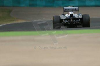World © Octane Photographic Ltd. F1 Hungarian GP - Hungaroring. Saturday 27th July 2013. F1 Qualifying. Williams FW35 - Valtteri Bottas. Digital Ref : 0764lw1d4044