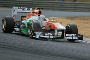 World © Octane Photographic Ltd. F1 Hungarian GP - Hungaroring. Saturday 27th July 2013. F1 Qualifying. Sahara Force India VJM06 - Adrian Sutil. Digital Ref : 0764lw1d4270