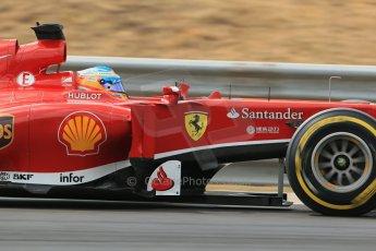 World © Octane Photographic Ltd. F1 Hungarian GP - Hungaroring. Saturday 27th July 2013. F1 Qualifying. Scuderia Ferrari F138 - Fernando Alonso. Digital Ref : 0764lw1d4297